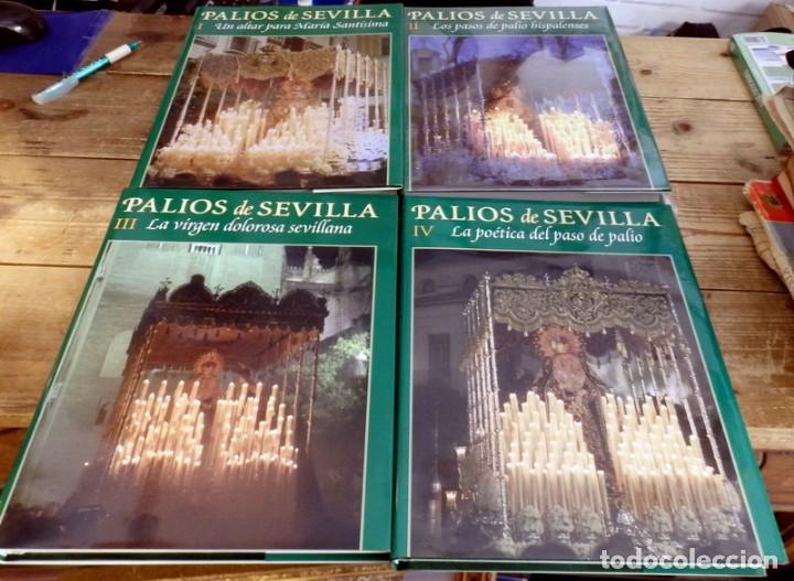 PALIOS DE SEVILLA (COMPLETO). GRAN OBRA ILUSTRADA SOBRE LOS PALIOS DE LA SEMANA SANTA DE SEVILLA (Libros de Segunda Mano - Religión)