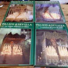Libros de segunda mano: PALIOS DE SEVILLA (COMPLETO). GRAN OBRA ILUSTRADA SOBRE LOS PALIOS DE LA SEMANA SANTA DE SEVILLA. Lote 150944262