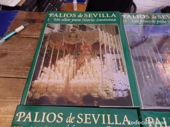 Libros de segunda mano: PALIOS DE SEVILLA (Completo). Gran obra ilustrada sobre los palios de la Semana Santa de Sevilla - Foto 2 - 150944262