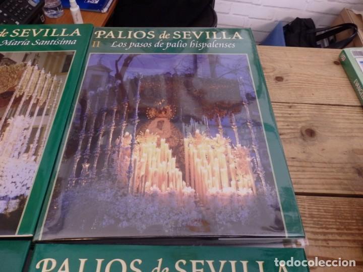 Libros de segunda mano: PALIOS DE SEVILLA (Completo). Gran obra ilustrada sobre los palios de la Semana Santa de Sevilla - Foto 3 - 150944262