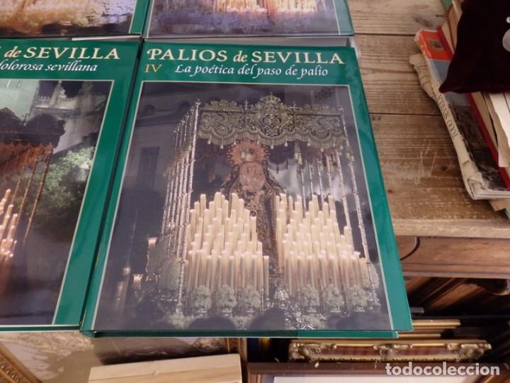 Libros de segunda mano: PALIOS DE SEVILLA (Completo). Gran obra ilustrada sobre los palios de la Semana Santa de Sevilla - Foto 5 - 150944262