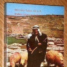 Libros de segunda mano: GUÍA DEL PAÍS DE JESÚS POR ANTONIO SALAS Y ANDRÉS MANRIQUE DE ED. BIBLIA Y FE EN MADRID 1979. Lote 151147890