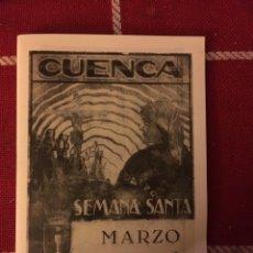 Libros de segunda mano: SEMANA SANTA CUENCA 1940. Lote 151297692