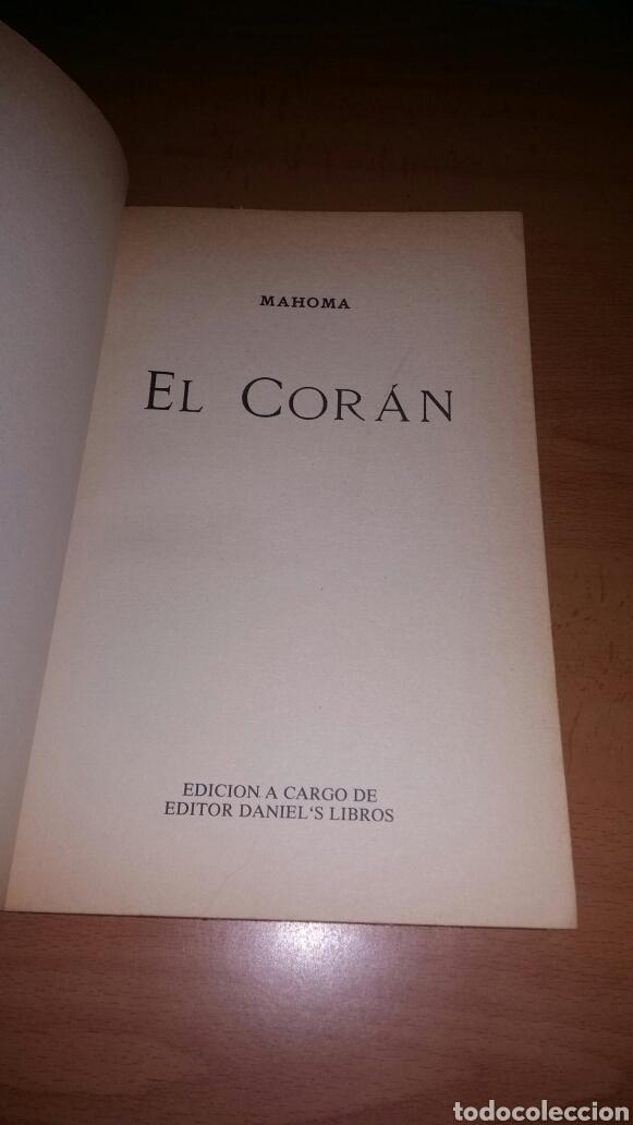Libros de segunda mano: El coran mahoma. El libro sagrado del islam. Envio gratis. - Foto 3 - 151424110