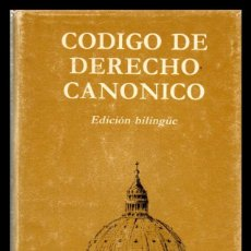 Libros de segunda mano: XX CODIGO DE DERECHO CANONICO.. Lote 151439882