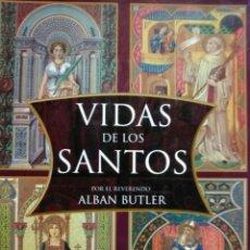 Libros de segunda mano: LIBRO VIDA DE LOS SANTOS. Lote 152791557
