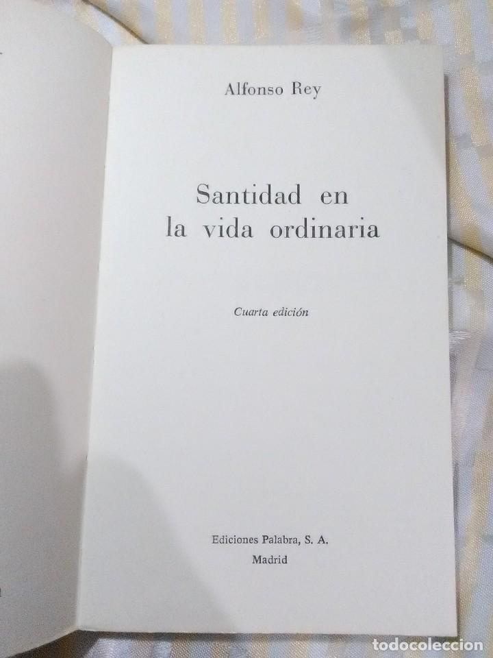 Libros de segunda mano: Santidad en la vida ordinaria. Alfonso Rey. Cuadernos Palabra, nº 19. 1974. 4 ed. - Foto 2 - 152952454