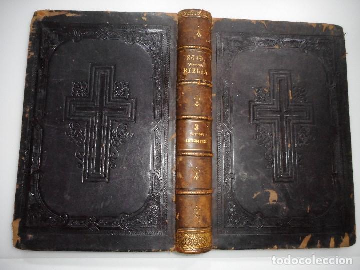 Libros de segunda mano: La sagrada Biblia (Tomos 3 y 4) Y92671 - Foto 3 - 153049494