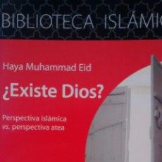 Libros de segunda mano: ¿EXISTE DIOS? DE HAYA MUHAMMAD EID (CENTRO CULTURAL ISLAMICO). Lote 153111518