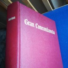 Libros de segunda mano: GRAN CONCORDIA DE LA TRADUCCIÓN DEL NUEVO MUNDO DE LAS SANTAS ESCRITURAS.PAPEL BIBLIA CON1402 PÁGIN. Lote 153389500