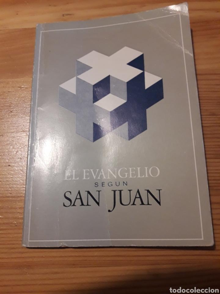 EL EVANGELIO SEGUN SAN JUAN OBSEQUI HOSPITAL EVANGELICO BARCELONA (Libros de Segunda Mano - Religión)