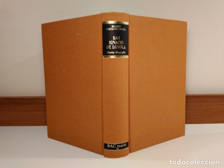 SAN IGNACIO DE LOYOLA. NUEVA BIOGRAFÍA. GARCÍA-VILLOSLADA, RICARDO, 1986. ISBN 8422012677. (Libros de Segunda Mano - Religión)