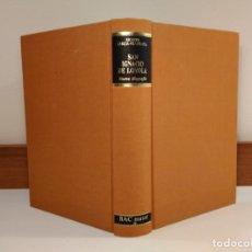 Libros de segunda mano: SAN IGNACIO DE LOYOLA. NUEVA BIOGRAFÍA. GARCÍA-VILLOSLADA, RICARDO, 1986. ISBN 8422012677.. Lote 154158874