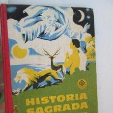 Libros de segunda mano: HISTORIA SAGRADA - GRADO PREPARATORIO - EDELVIVES. EDITORIAL LUIS VIVES ZARAGOZA 1960.. Lote 154338414