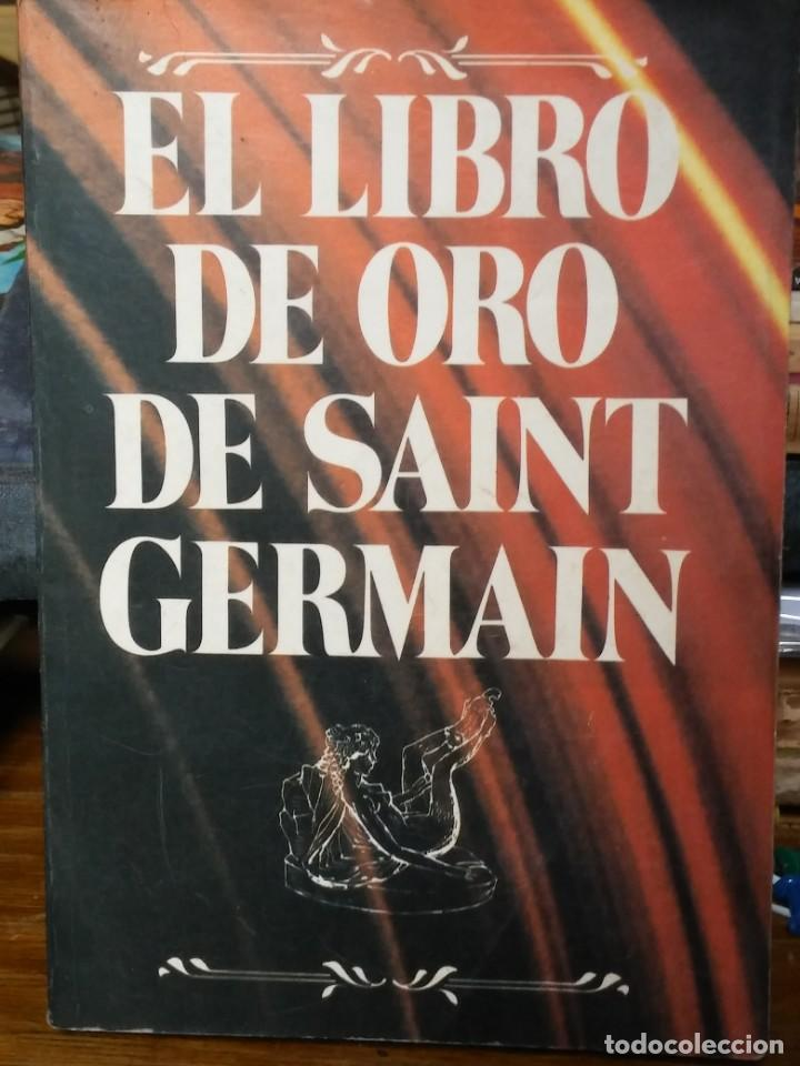 EL LIBRO DE ORO DE SAINT GERMAIN - MAESTRO SAINT GERMAIN (Libros de Segunda Mano - Religión)