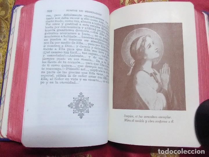 Libros de segunda mano: Meditaciones sobre la Santísima Virgen María. Rz. Villar. 1947. 7 Ed. - Foto 3 - 154429462
