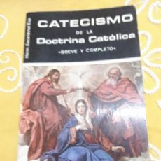 Libros de segunda mano: CATECISMO DE LA DOCTRINA CATÓLICA. HD. SACERDOTAL. 1980.. Lote 154558074