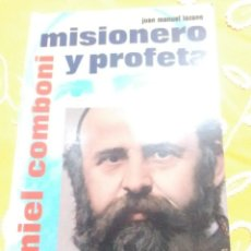 Libros de segunda mano: DANIEL COMBONI, MISIONERO Y PROFETA. LOZANO. 1995.. Lote 154560818