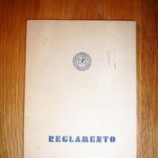 Libros de segunda mano: REGLAMENTO : CONGREGACIONES MARIANAS : CANÓNICAMENTE ERIGIDAS EN LAS CASAS DEL INSTITUTO DEL SAGRADO. Lote 155170754