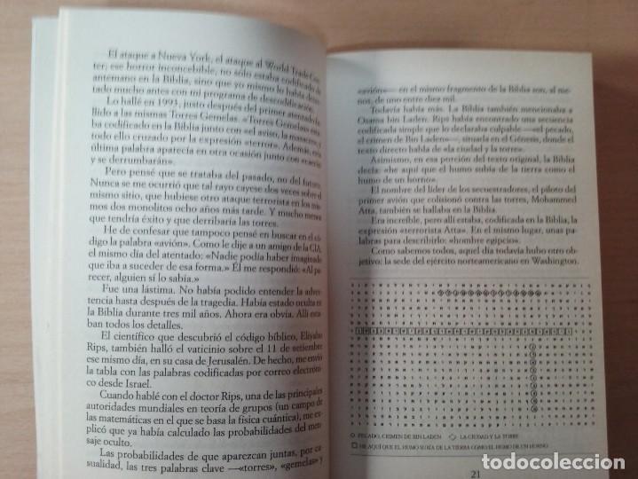 Libros de segunda mano: EL NUEVO CÓDIGO SECRETO DE LA BIBLIA - MICHAEL DROSNIN - Foto 4 - 155442994