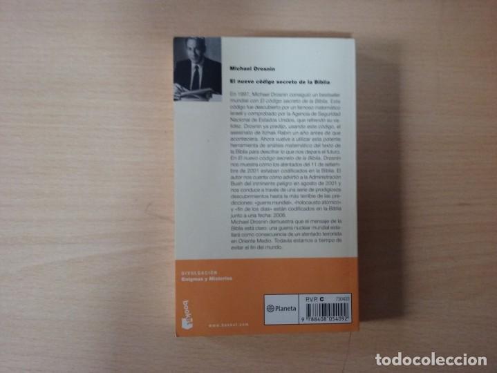 Libros de segunda mano: EL NUEVO CÓDIGO SECRETO DE LA BIBLIA - MICHAEL DROSNIN - Foto 5 - 155442994