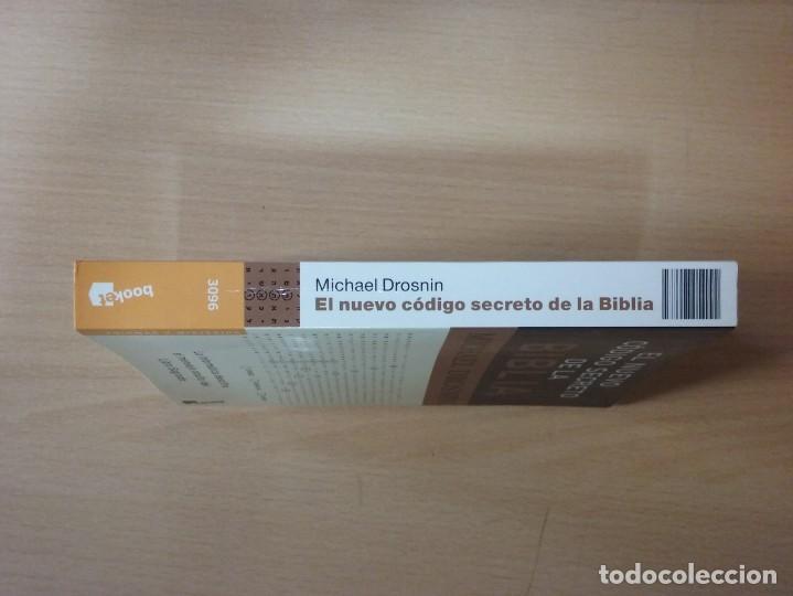Libros de segunda mano: EL NUEVO CÓDIGO SECRETO DE LA BIBLIA - MICHAEL DROSNIN - Foto 6 - 155442994
