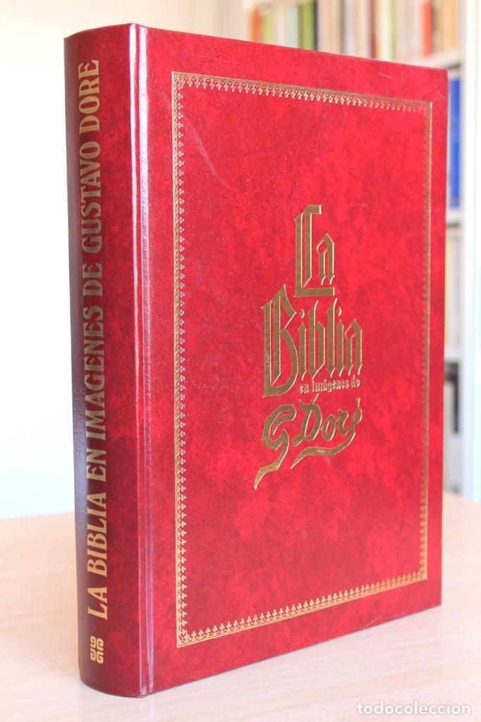LA BÍBLIA EN IMÁGENES DE GUSTAVO DORÉ. 230 ILUSTRACIONES. GRAN FORMATO (Libros de Segunda Mano - Religión)
