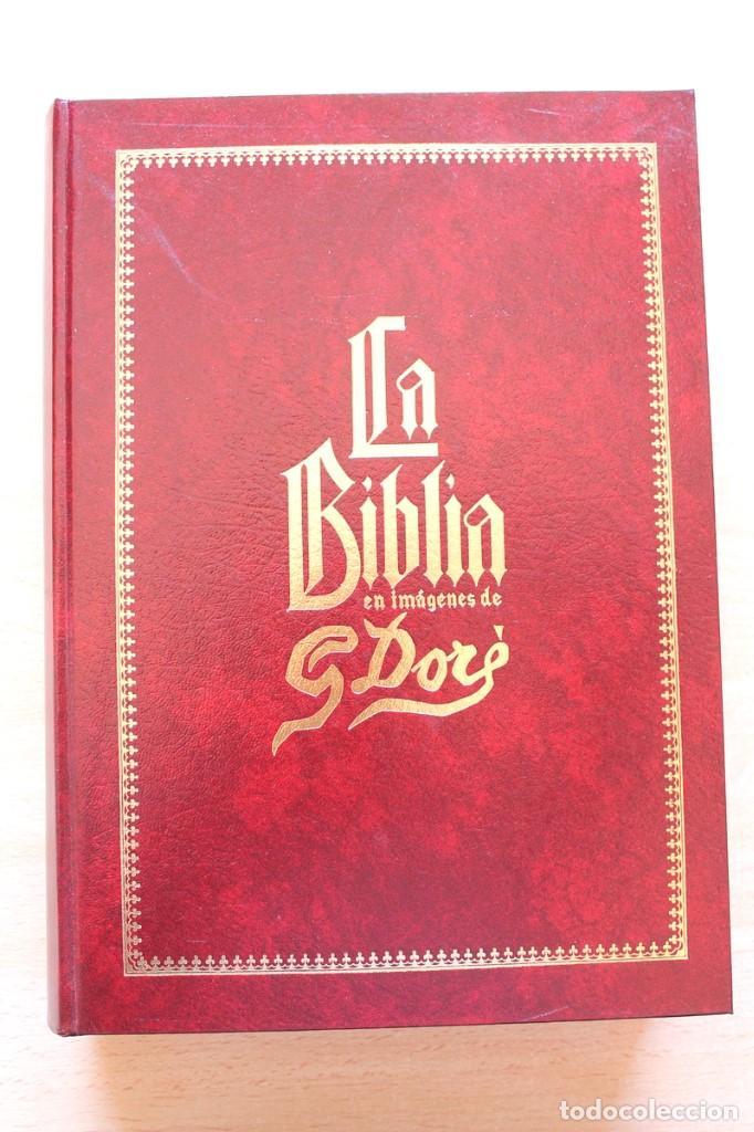 Libros de segunda mano: La Bíblia en imágenes de Gustavo Doré. 230 ilustraciones. GRAN FORMATO - Foto 2 - 155611550