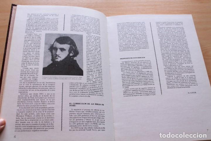 Libros de segunda mano: La Bíblia en imágenes de Gustavo Doré. 230 ilustraciones. GRAN FORMATO - Foto 5 - 155611550