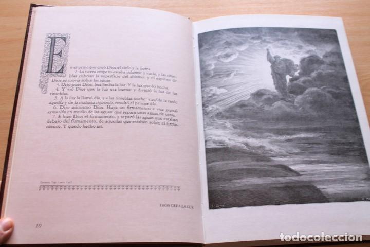 Libros de segunda mano: La Bíblia en imágenes de Gustavo Doré. 230 ilustraciones. GRAN FORMATO - Foto 6 - 155611550