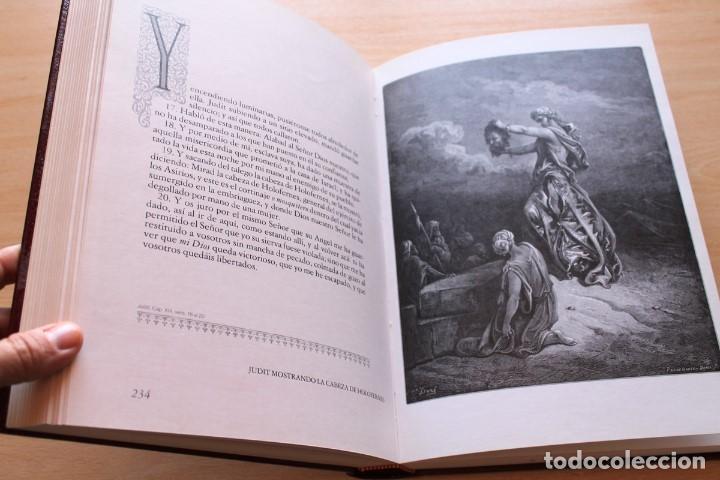 Libros de segunda mano: La Bíblia en imágenes de Gustavo Doré. 230 ilustraciones. GRAN FORMATO - Foto 7 - 155611550