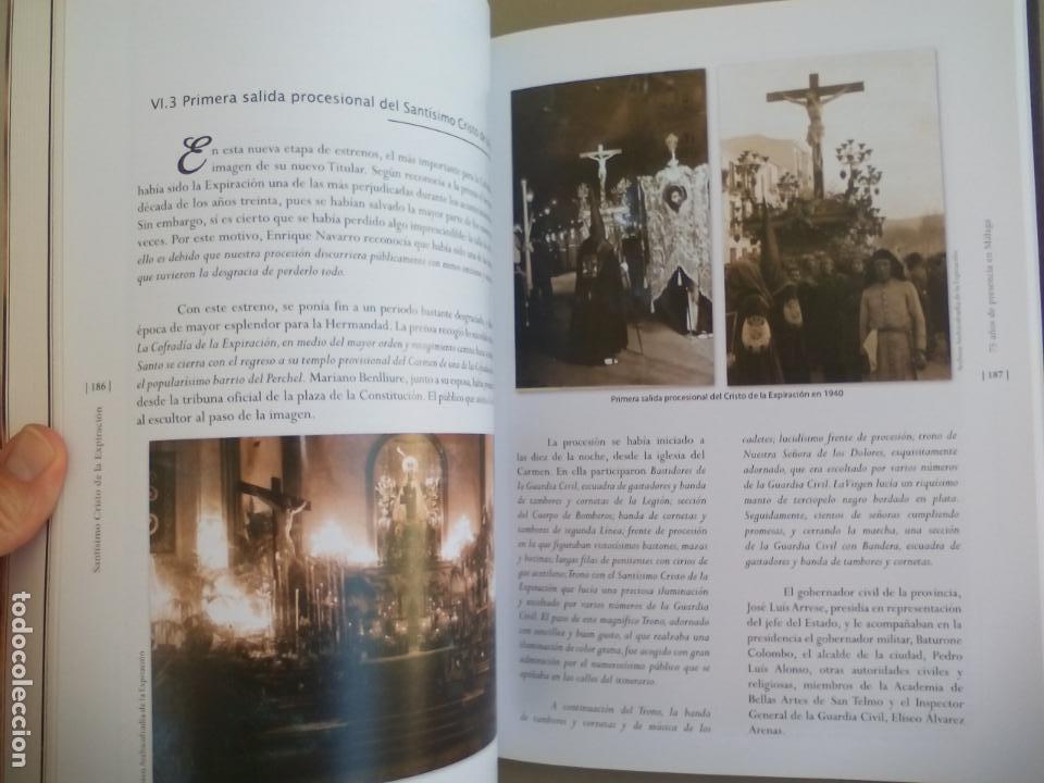 Libros de segunda mano: EXPIRACIÓN, 75 AÑOS DE PRESENCIA EN MÁLAGA. VOLUMEN I. 2015. SEMANA SANTA. - Foto 2 - 155865018