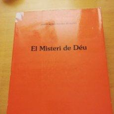Libros de segunda mano: EL MISTERI DE DÉU (JOSEP MARIA ROVIRA BELLOSO) EDITORIAL HERDER. Lote 155865022