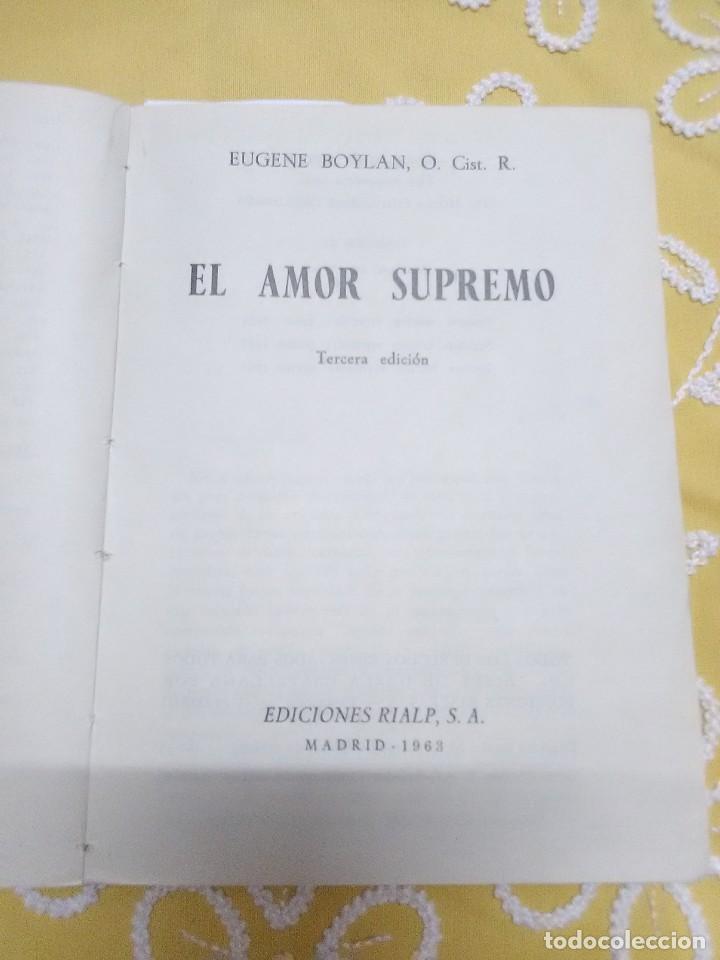 Libros de segunda mano: El Amor supremo. Boylan. Patmos, nn 27-28. 1963. (En un solo tomo). - Foto 2 - 155868530