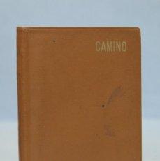 Libros de segunda mano: 1965.- CAMINO. JOSE MARIA ESCRIVA BALAGUER. Lote 155995034