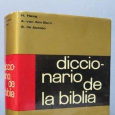 Libros de segunda mano: DICCIONARIO DE LA BIBLIA. HERDER. 1978. Lote 156454726