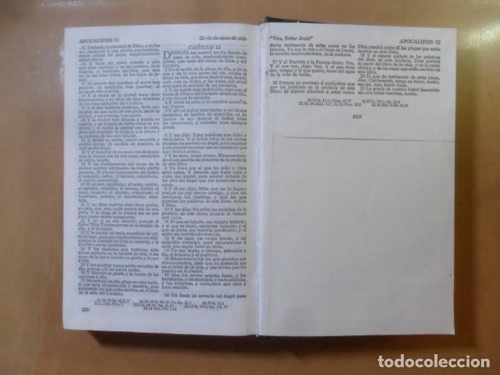 Libros de segunda mano: SANTA BIBLIA - SOCIEDAD BIBLICA - FORMATO GRANDE ** VER FOTOS - Foto 7 - 156588938