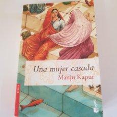 Libros de segunda mano - una MUJER CASADA - KAPUR, MANJU - tdk26 - 156773206