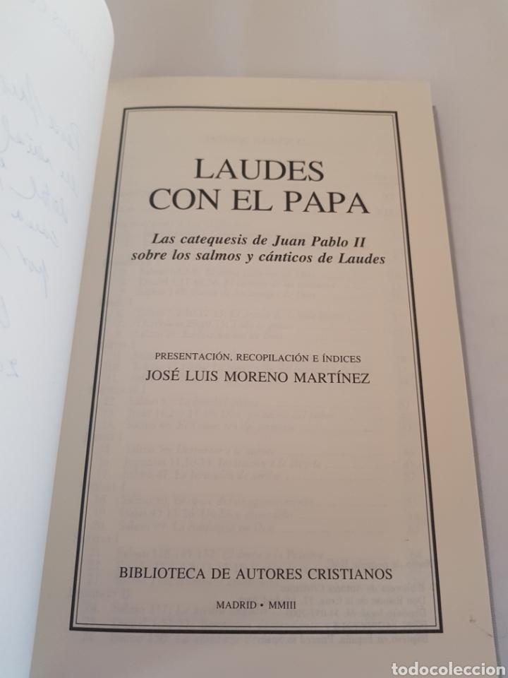 LAUDES CON EL PAPA - TDK26 (Libros de Segunda Mano - Religión)