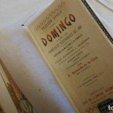Libros de segunda mano: PEQUEÑO OFICIO DEL DOMINGO. Lote 156888282