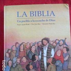 Libros de segunda mano: LA BIBLIA. UN PUEBLO A LA ESCUCHA DE DIOS. RICART, IGNASI. ED CLARET,. Lote 241154975