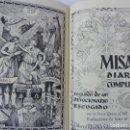Libros de segunda mano: MISAL DIARIO COMPLETO Y DEVOCIONARIO. P. LUIS RIBERA. REGINA 1954. Lote 158145198