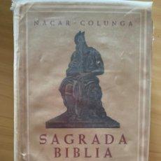 Libros de segunda mano: SAGRADA BÍBLIA. Lote 158199810