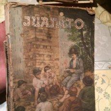 Libros de segunda mano: ANTIGUO LIBRO JUANITO INFANCIA Y ADOLESCENCIA DEL PADRE DE LOS NIÑOS POR JUAN CASSANO. Lote 158483038