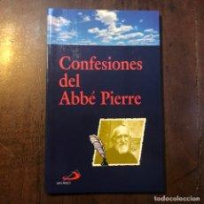 Libros de segunda mano - Confesiones del Abbé Pierre - 158660322