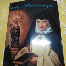 Libros de segunda mano: SOR PATROCINIO. M. ISABEL DE JESÚS. HOMOLEGENS. 2008. . Lote 158862618