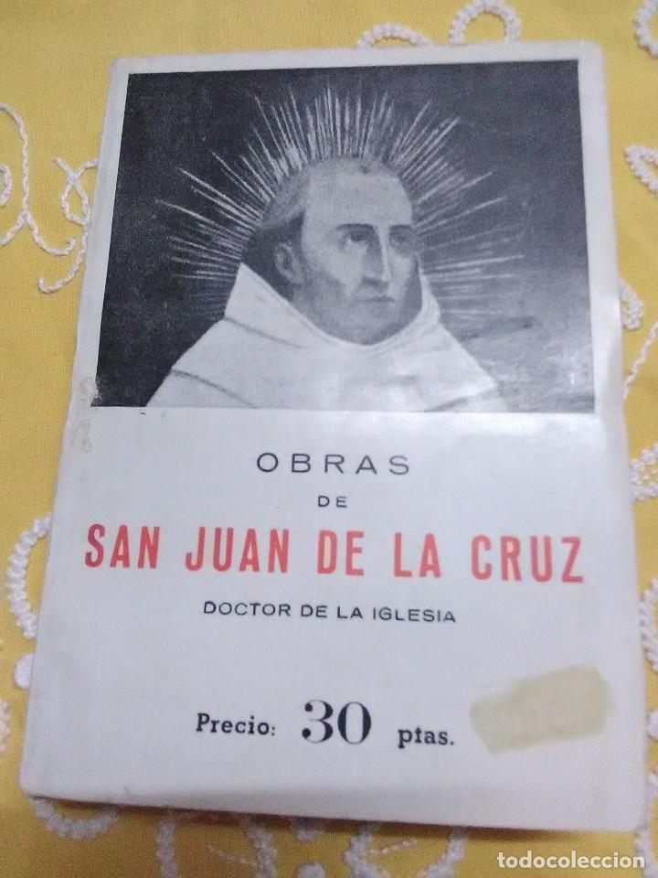 OBRAS DE SAN JUAN DE LA CRUZ, DOCTOR DE LA IGLESIA. MIÑÓN. (Libros de Segunda Mano - Religión)