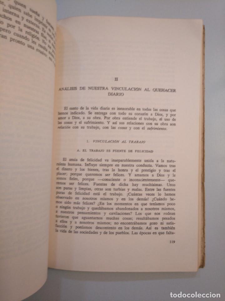 Libros de segunda mano: LA SANTIFICACIÓN DE LA VIDA DIARIA. - M.A. NAILIS. EDITORIAL HERDER. TDK380 - Foto 2 - 159178314
