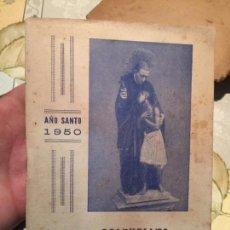 Libros de segunda mano: ANTIGUO LIBRO RELIGIOSO ALMANAQUE CLAVERIANO SUPLEMENTO DE EL NEGRITO AÑO 1950. Lote 159303582