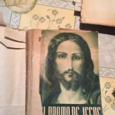 Libros de segunda mano: ANTIGUO LIBRO EL DRAMA DE JESÚS POR JOSÉ JULIO MARTÍNEZ. DÉCIMA EDICIÓN AÑO 1956. Lote 159305382